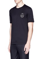 Crown and bee crest embroidery T-shirt