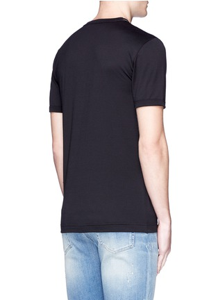 Dolce & Gabbana-Sicilian cowboy appliqué T-shirt