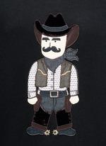 Sicilian Cowboy appliqué hoodie