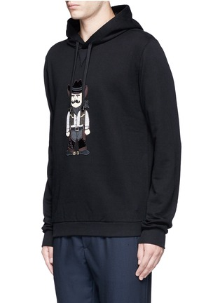 Front View - Click To Enlarge - Dolce & Gabbana - Sicilian Cowboy appliqué hoodie