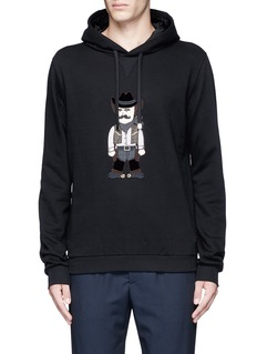 Dolce & GabbanaSicilian Cowboy appliqué hoodie