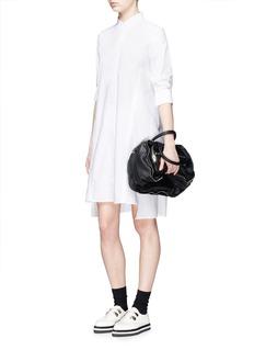ACNE STUDIOS'Rosamund Piqué' cotton shirt dress