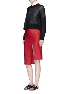 ACNE STUDIOS'Lynton' wool-silk skirt