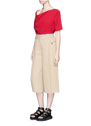 Figure View - Click To Enlarge - Acne Studios - 'Maddock Sable' drape crepe top