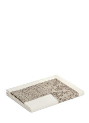 Main View - Click To Enlarge - Frette - Gotico jacquard border king size top sheet