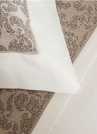 Detail View - Click To Enlarge - Frette - Gotico jacquard border standard sham