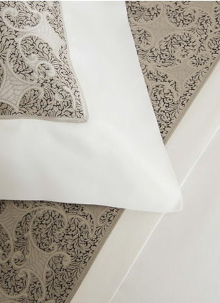 Detail View - Click To Enlarge - Frette - Gotico jacquard border Euro sham