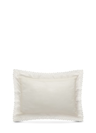 Main View - Click To Enlarge - Frette - Sempione Lace standard sham