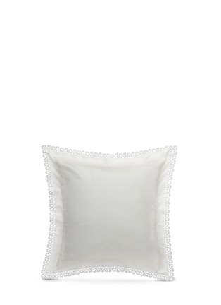 Main View - Click To Enlarge - Frette - Sempione Lace Euro sham