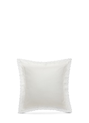 Figure View - Click To Enlarge - Frette - Sempione Lace Euro sham