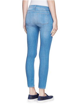 Back View - Click To Enlarge - rag & bone/JEAN - 'Capri' cropped skinny jeans