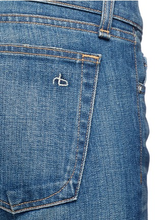 Detail View - Click To Enlarge - rag & bone/JEAN - 'The Dre' boyfriend skinny jeans