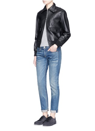 Figure View - Click To Enlarge - rag & bone/JEAN - 'The Dre' boyfriend skinny jeans