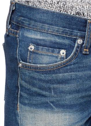 Detail View - Click To Enlarge - rag & bone/JEAN - 'Cut-off' cotton denim shorts