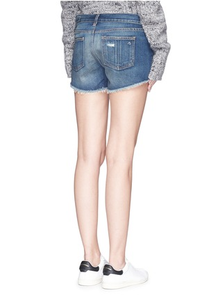 Back View - Click To Enlarge - rag & bone/JEAN - 'Cut-off' cotton denim shorts