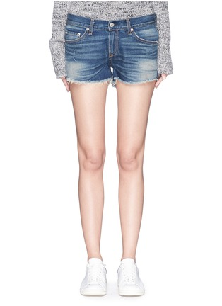 Main View - Click To Enlarge - rag & bone/JEAN - 'Cut-off' cotton denim shorts