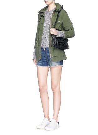 Figure View - Click To Enlarge - rag & bone/JEAN - 'Cut-off' cotton denim shorts