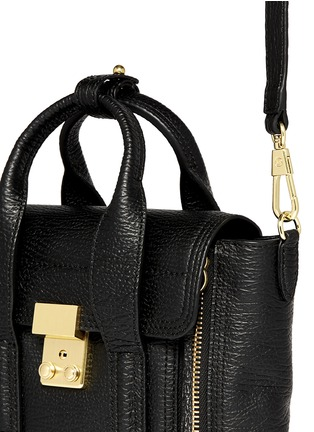 Detail View - Click To Enlarge - 3.1 Phillip Lim - 'Pashli' mini grainy leather satchel