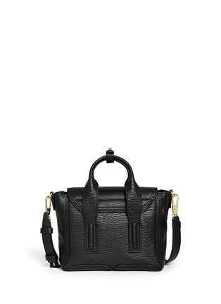 Back View - Click To Enlarge - 3.1 Phillip Lim - 'Pashli' mini grainy leather satchel