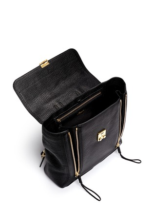 Detail View - Click To Enlarge - 3.1 Phillip Lim - 'Pashli' grainy leather backpack