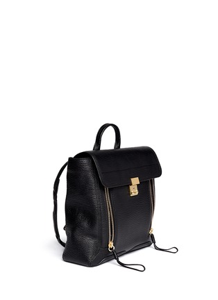 Front View - Click To Enlarge - 3.1 Phillip Lim - 'Pashli' grainy leather backpack
