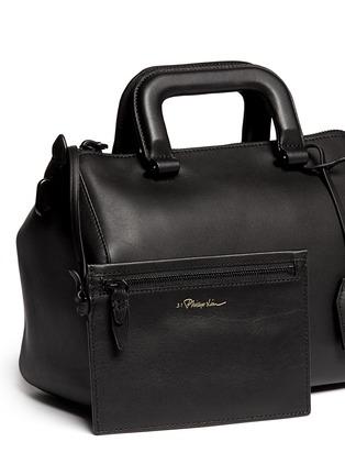 - 3.1 Phillip Lim - 'Wednesday' small leather Boston satchel