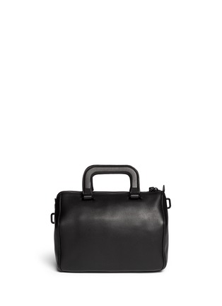 Back View - Click To Enlarge - 3.1 Phillip Lim - 'Wednesday' small leather Boston satchel
