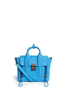 3.1 PHILLIP LIM 'Pashli' mini grainy suede satchel
