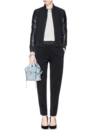 - 3.1 Phillip Lim - 'Pashli' mini grainy leather satchel