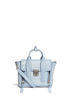 3.1 PHILLIP LIM 'Pashli' mini grainy leather satchel
