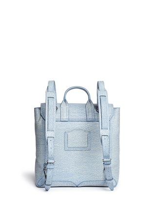 Back View - Click To Enlarge - 3.1 Phillip Lim - 'Pashli' grainy leather backpack