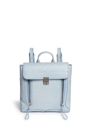 Main View - Click To Enlarge - 3.1 Phillip Lim - 'Pashli' grainy leather backpack