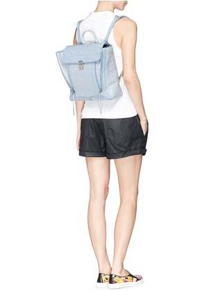 Figure View - Click To Enlarge - 3.1 Phillip Lim - 'Pashli' grainy leather backpack