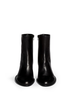 ANN DEMEULEMEESTER'Glove' leather boots