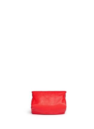Back View - Click To Enlarge - Givenchy - 'Pandora' leather wristlet pouch