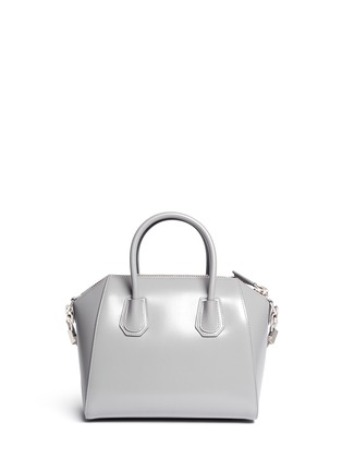 Back View - Click To Enlarge - Givenchy - 'Antigona' Small Leather Bag