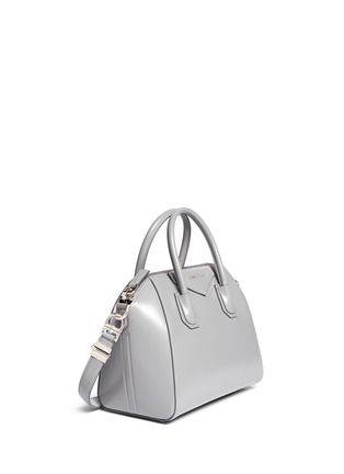 Front View - Click To Enlarge - Givenchy - 'Antigona' Small Leather Bag