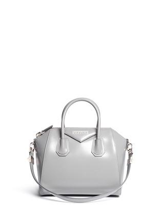Main View - Click To Enlarge - Givenchy - 'Antigona' Small Leather Bag
