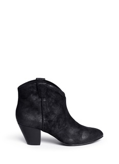 ASH 'Jalouse' brushed suede ankle boot