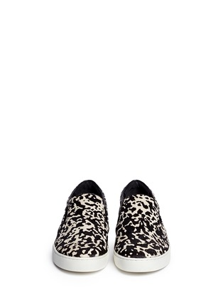 Figure View - Click To Enlarge - Michael Kors - Keaton cow hair print slip-ons