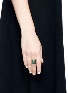 Ringly 'Into the Woods' emerald activity tracking ring