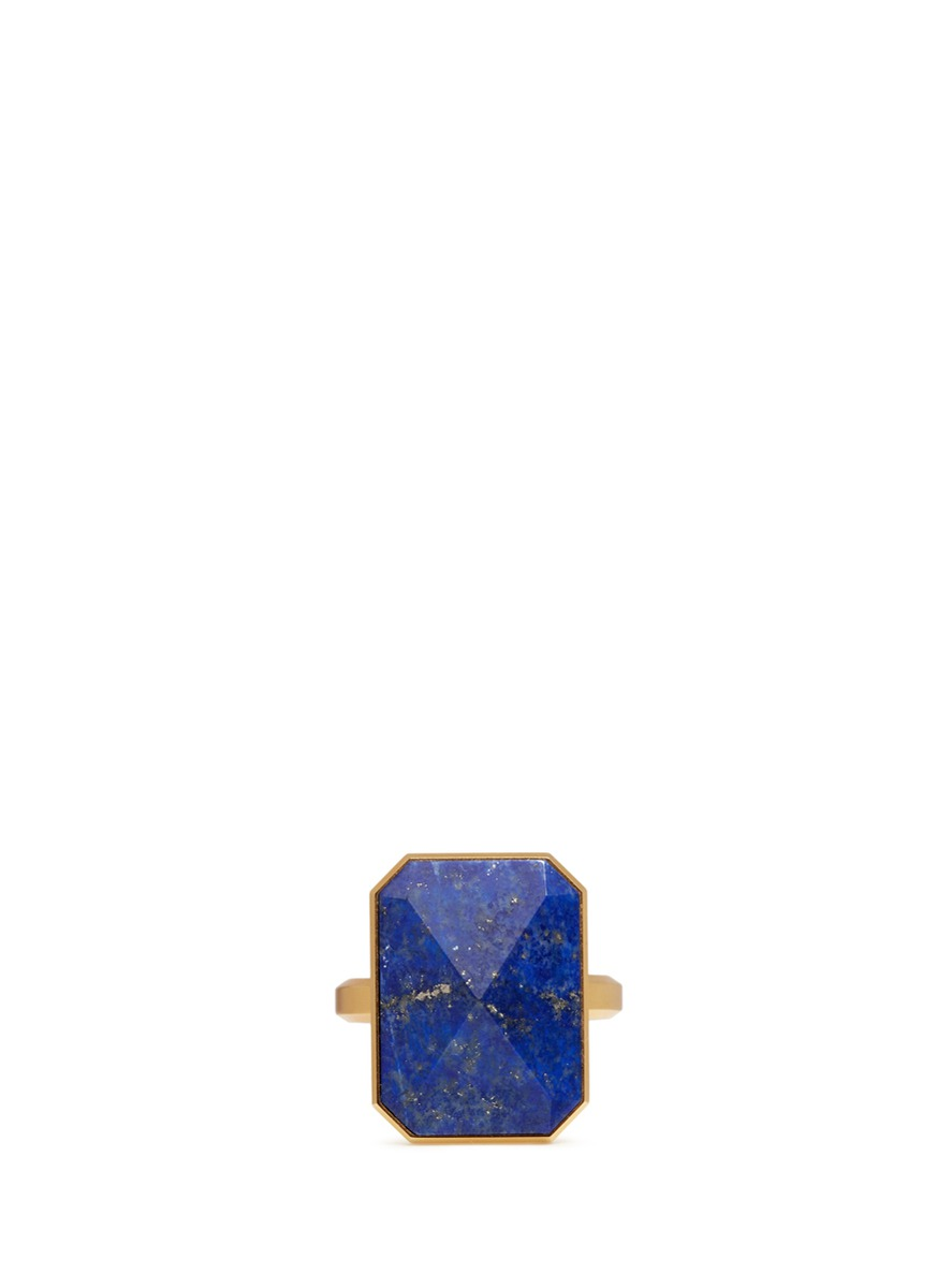 Out To Sea lapis activity tracking ring by Ringly