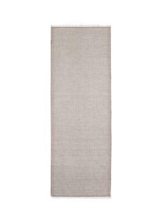 KashmirloomMetallic trim cashmere scarf