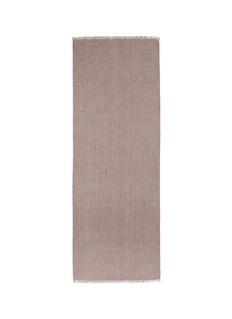Kashmirloom Metallic trim cashmere scarf