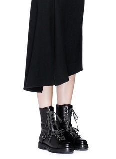 Valentino 'Rockstud' leather combat boots