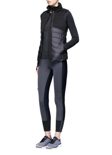 Calvin Klein CollectionTwo-in-one quilted down vest with jacket
