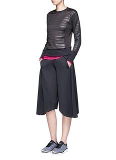 Calvin Klein CollectionUneven hem bonded jersey performance culottes