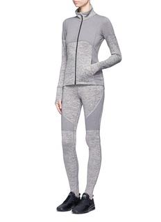 Calvin Klein CollectionFleece lined performance zip jacket