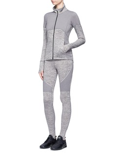 Calvin Klein CollectionFleece lined stirrup performance leggings