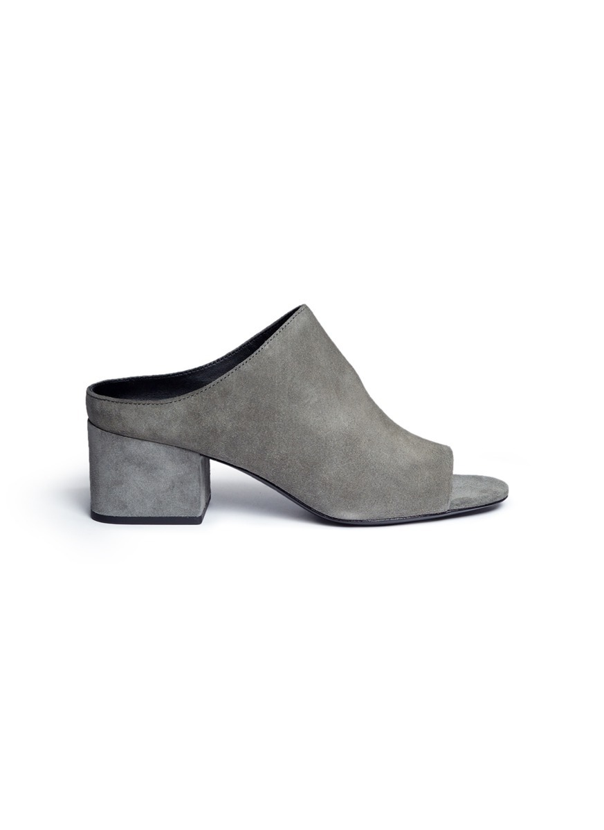 Cube suede mules by 3.1 Phillip Lim